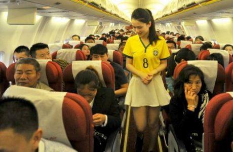 Comissaria de voo chinesa 01