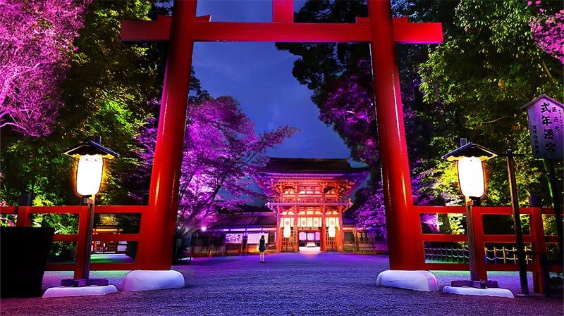 Templo-Shimogamo-festival-de-luzes