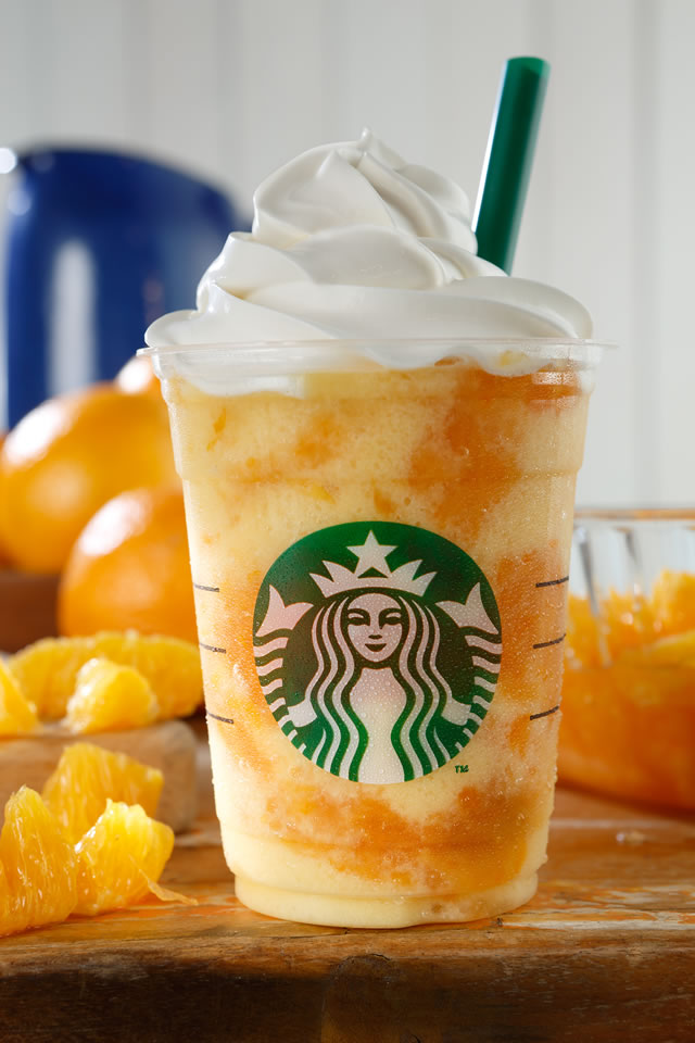 crash orange frappuccino